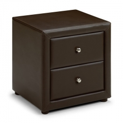 Leather Bedside Table